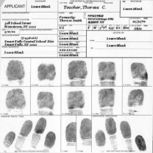 FINGER PRINT CARD